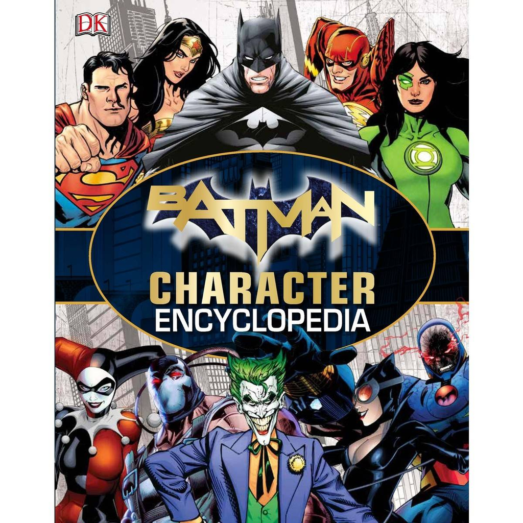 Batman: Character Encyclopedia (Hard Cover)