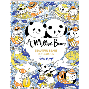A Million Bears: Beautiful Bears to Colour