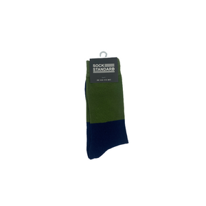 Sock Standard - Green/Blue