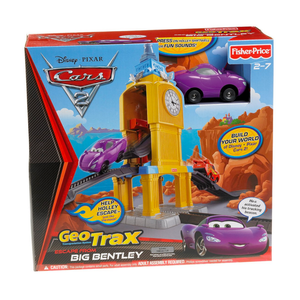 Fisher Price GeoTrax Disney Cars 2 Escape From Big Bentley
