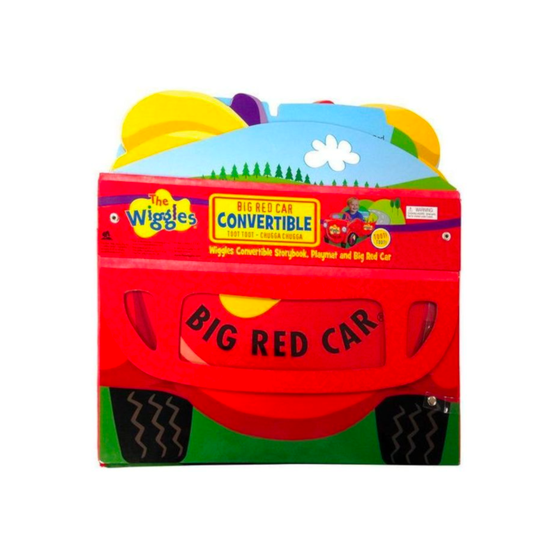 The Wiggles: Big Red Car Convertible Book