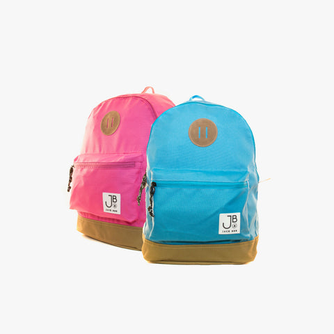 Jack Bee Brunswick Backpack - Pink & Blue