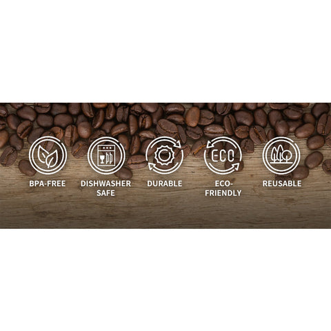 Reusable Nespresso Compatible Pods (10 pack)