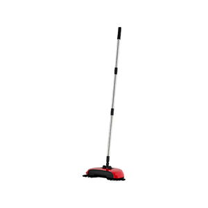 The Spin Sweeper Cordless Rotating Broom - Red