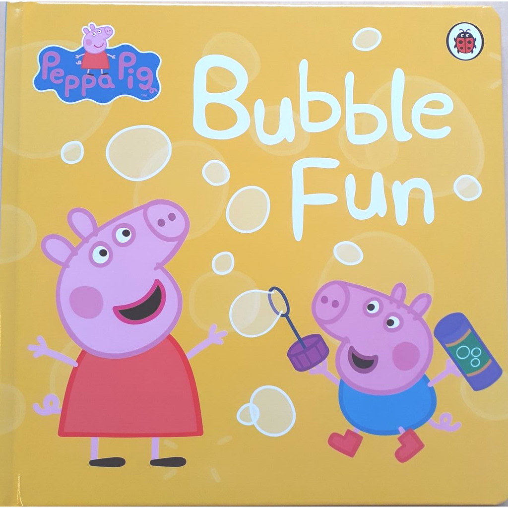 Peppa Pig: Bubble Fun (Hard Cover Book)
