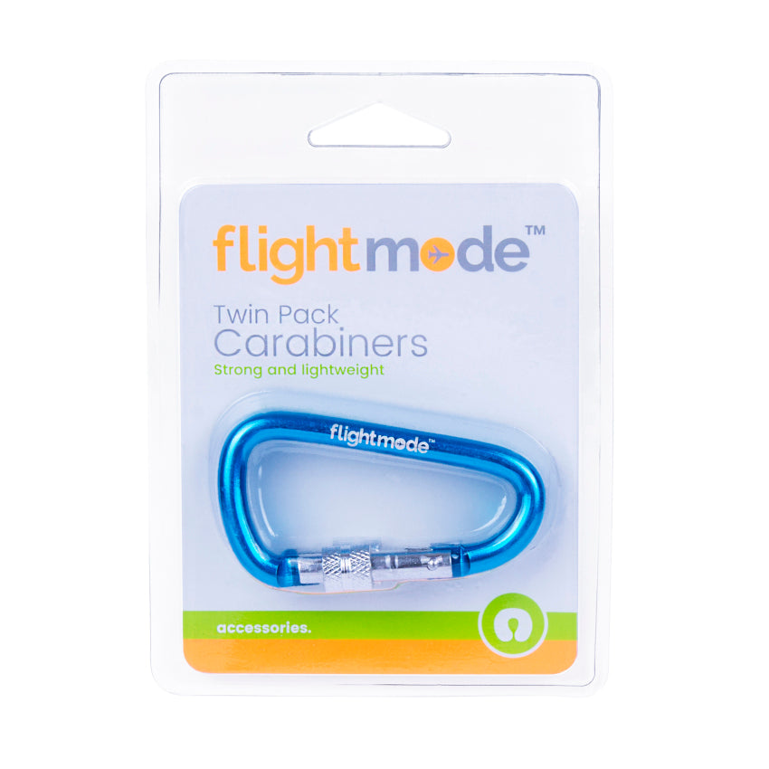 Flightmode Twin Pack Carabiners