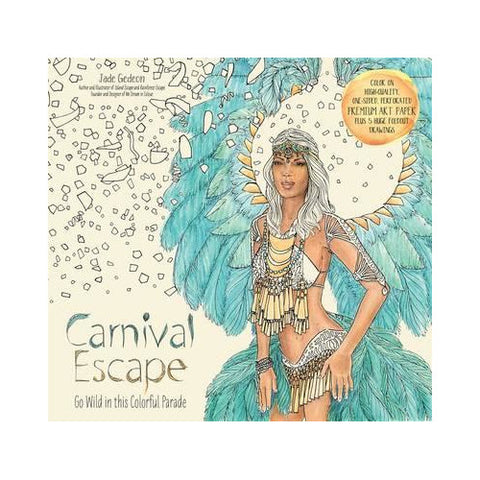 Carnival Escape Colouring Book For Adults