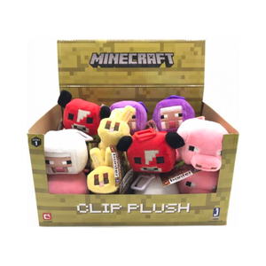 Minecraft Series 1 Plush Clips