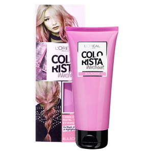 2 x L'Oreal Paris Colorista Wash Out Hair Colour - Lilachair