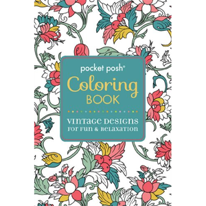 Colouring Book: Vintage Designs for Fun and Relaxation