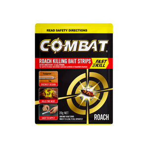 Combat Roach Killing Bait Strips 10 Pack
