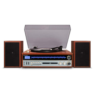 Crosley 1975T Entertainment System - Walnut