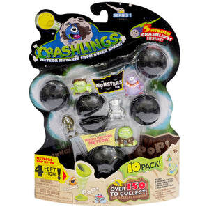 Crashlings Meteor Mutants From Outer Space - 10 Pack