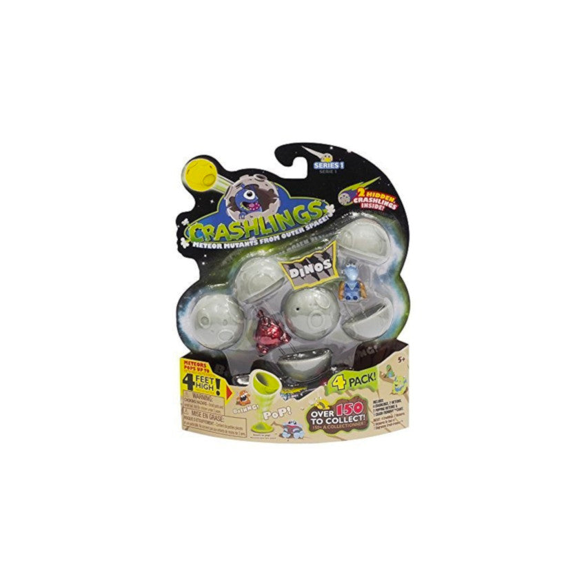 Crashlings Meteor Mutants From Outer Space - 4 Pack