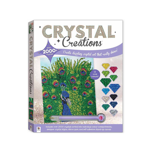 Crystal Creation Kit - Peacock
