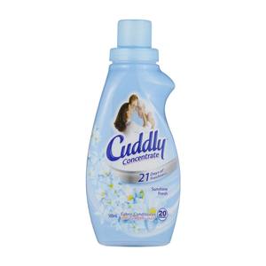Cuddly Concentrate Sunshine Fresh Fabric Conditioner 500mL
