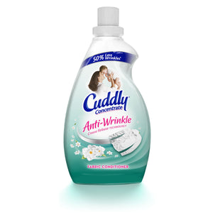 2 x Cuddly Concentrate Anti Wrinkle Fabric Conditioner 450ml Smooth Sales