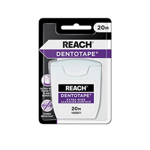 Reach: Dentotape Extra Wide Wax Coated Cleaning Surface (20m)