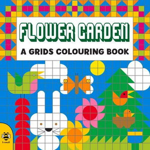 Flower Garden: A Grids Colouring Book