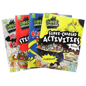 Dino Supersaurus Power Activity Pack - 1000 Stickers + 4 Activity Books
