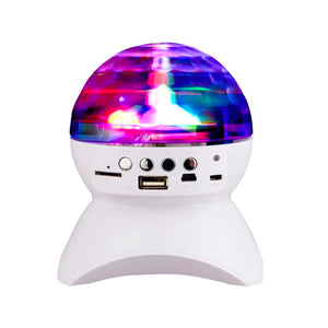 Bluetooth Speaker with Disco Light