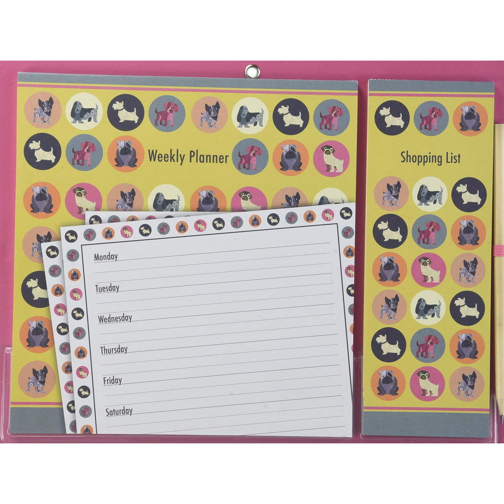 Dot the Dog Magnetic Planner Set