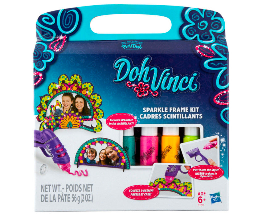 Play-Doh DohVinci Sparkle Frame Kit