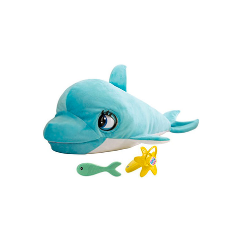 Club Petz BLU BLU the Baby Dolphin Interactive Talking Plush