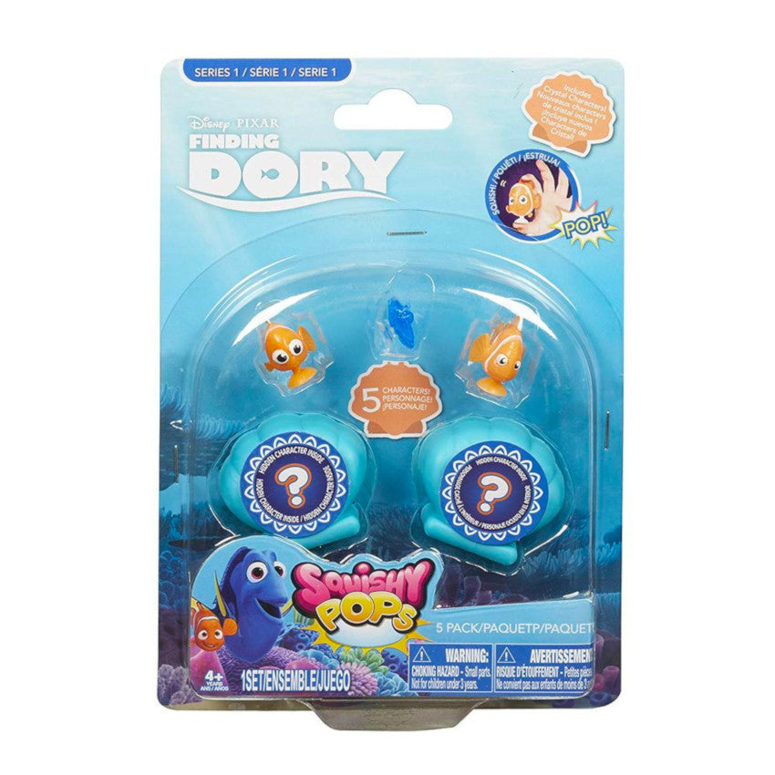 2 x Disney Finding Dory Squishy Pops