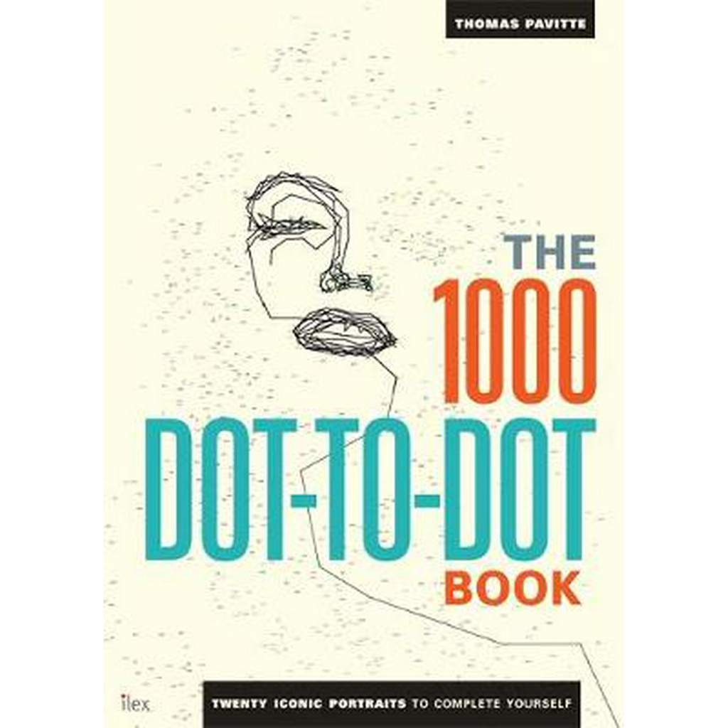 The 1000 Dot-to-Dot Book: Icons