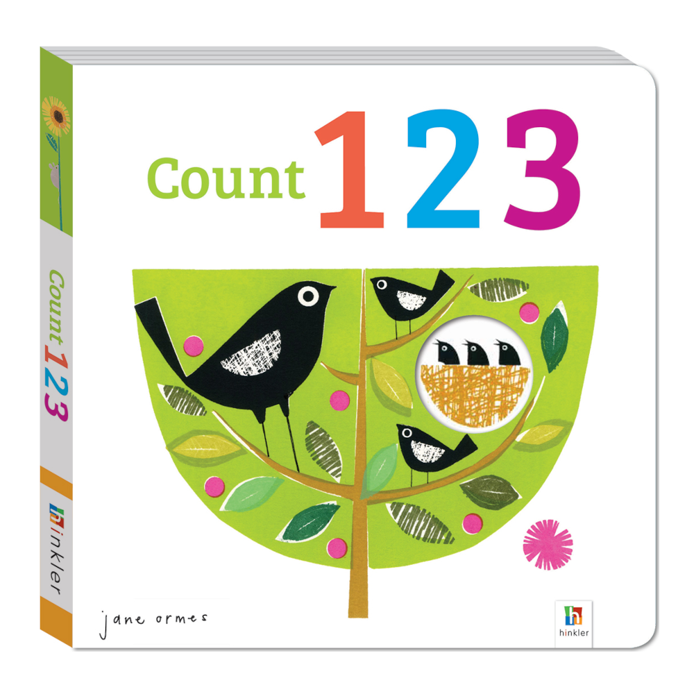 Peep Through Book: Count 1,2,3