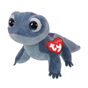 "Ty Beanie Babies Collection 10"" Frozen 2 Bruni The Salamander Sparkle Plush Toy"