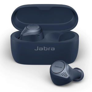 Jabra Elite Active 75t Wireless Earbuds with ANC - Navy