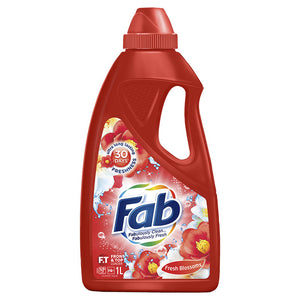 Fab Sunshine Fresh Front & Top Loader Liquid 1L