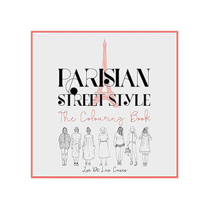 Parisian Street Style Colouring Book