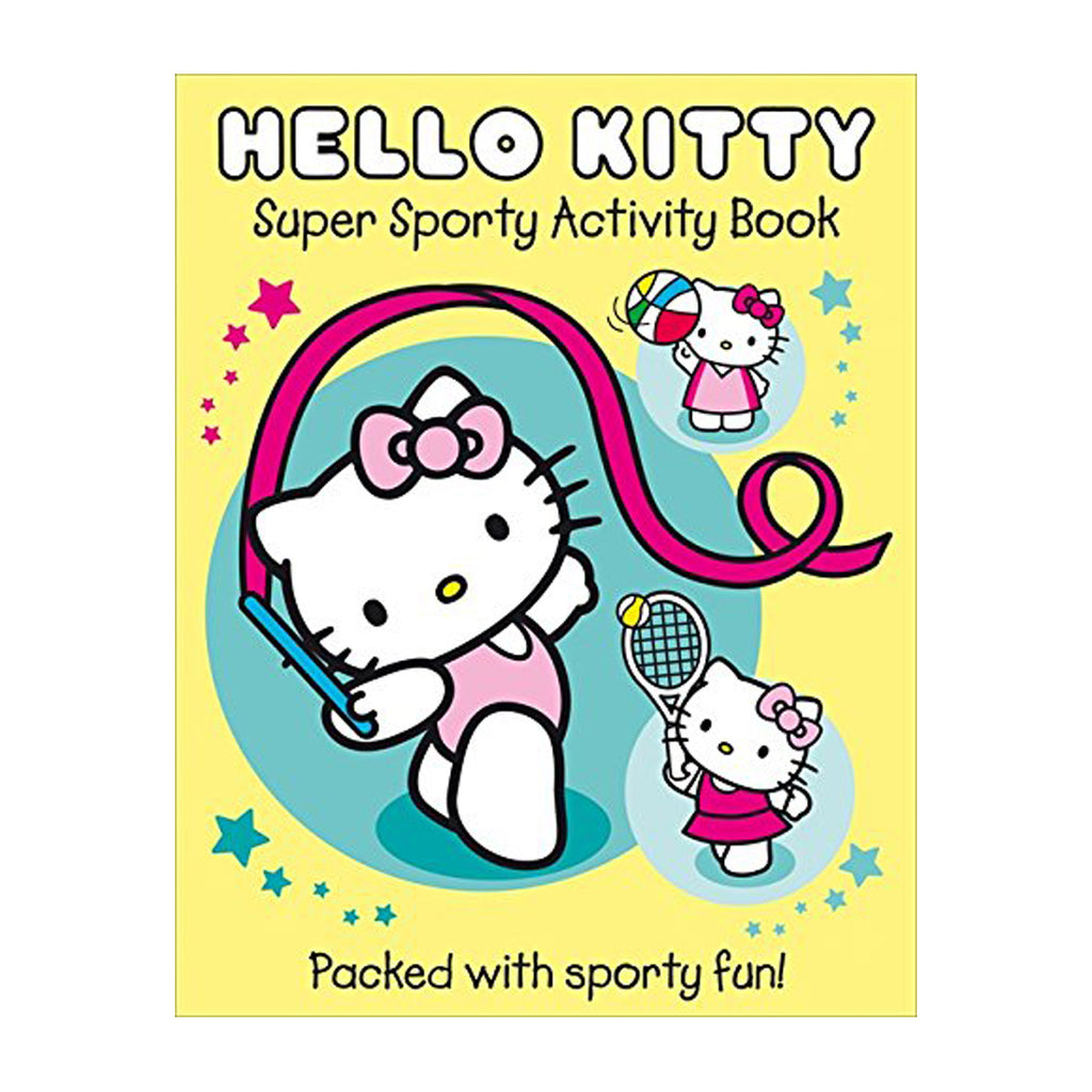Super Sporty Hello Kitty Activity Book