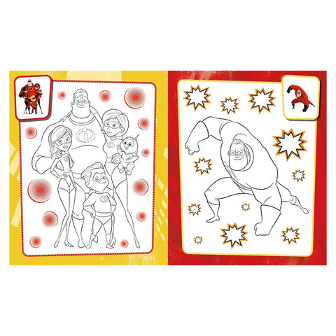 Disney Incredibles 2: The Ultimate Colouring Book