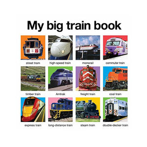My Big Train Book(Hard Cover)