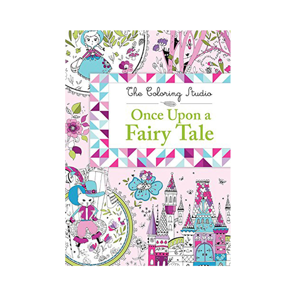 Once Upon a Fairy Tale Colouring Book
