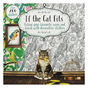 If the Cat Fits Colouring and Sticker Book