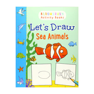 Let's Draw Sea Animals