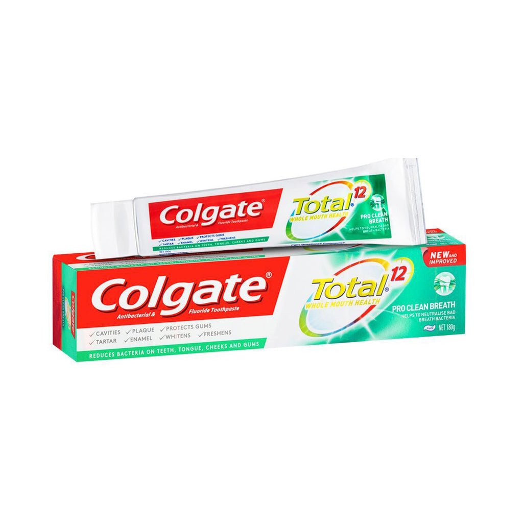 4 x Colgate Total Pro Clean Breath Toothpaste 180g