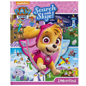 Paw Patrol - Search with Skye - Look and Find Book
