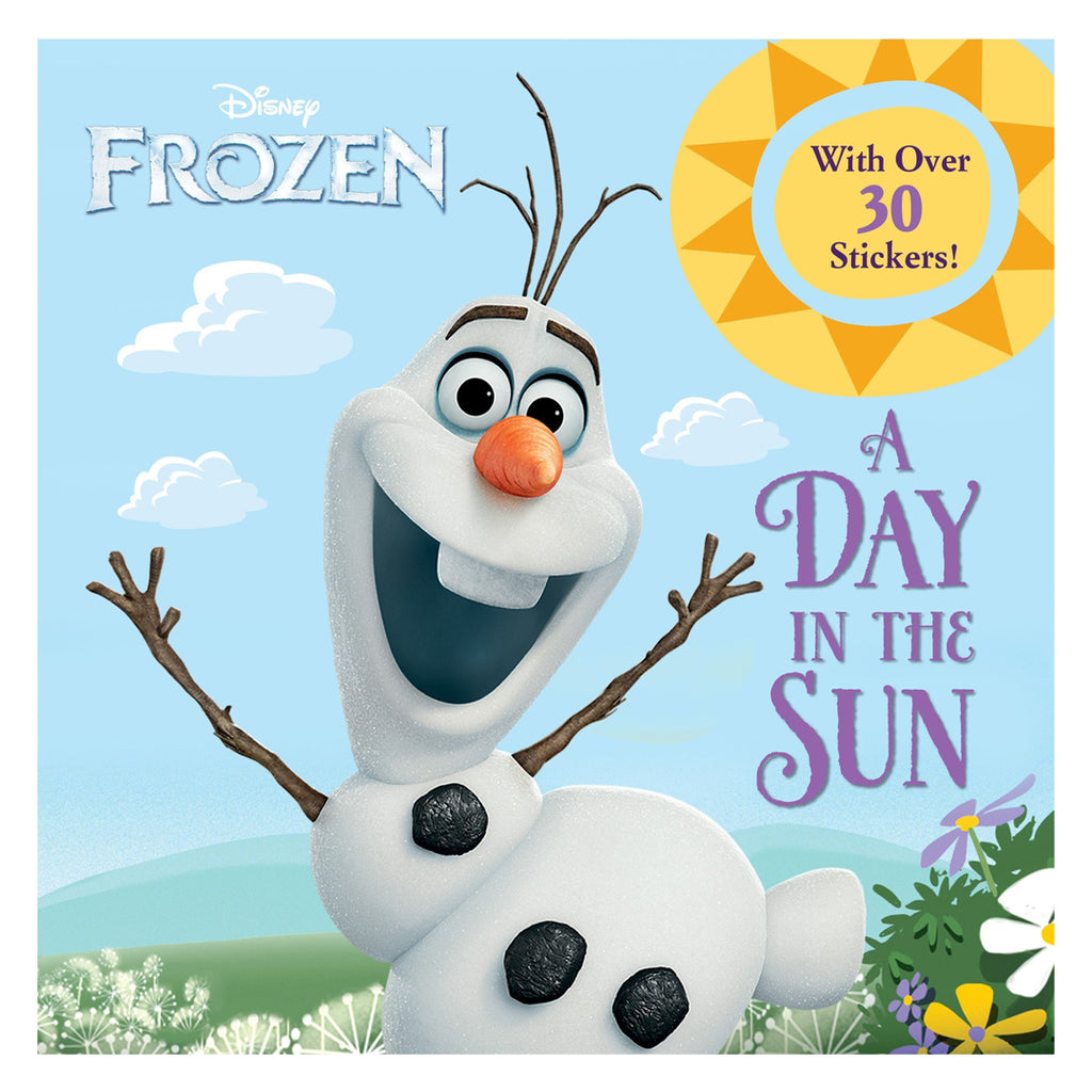 A Day in the Sun (Disney Frozen) - Picture and Sticker Book