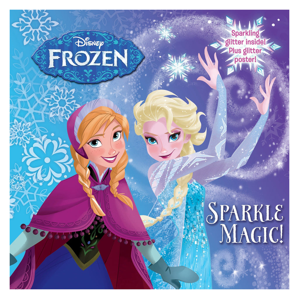 Sparkle Magic! (Disney Frozen) - Picture and Sticker Book
