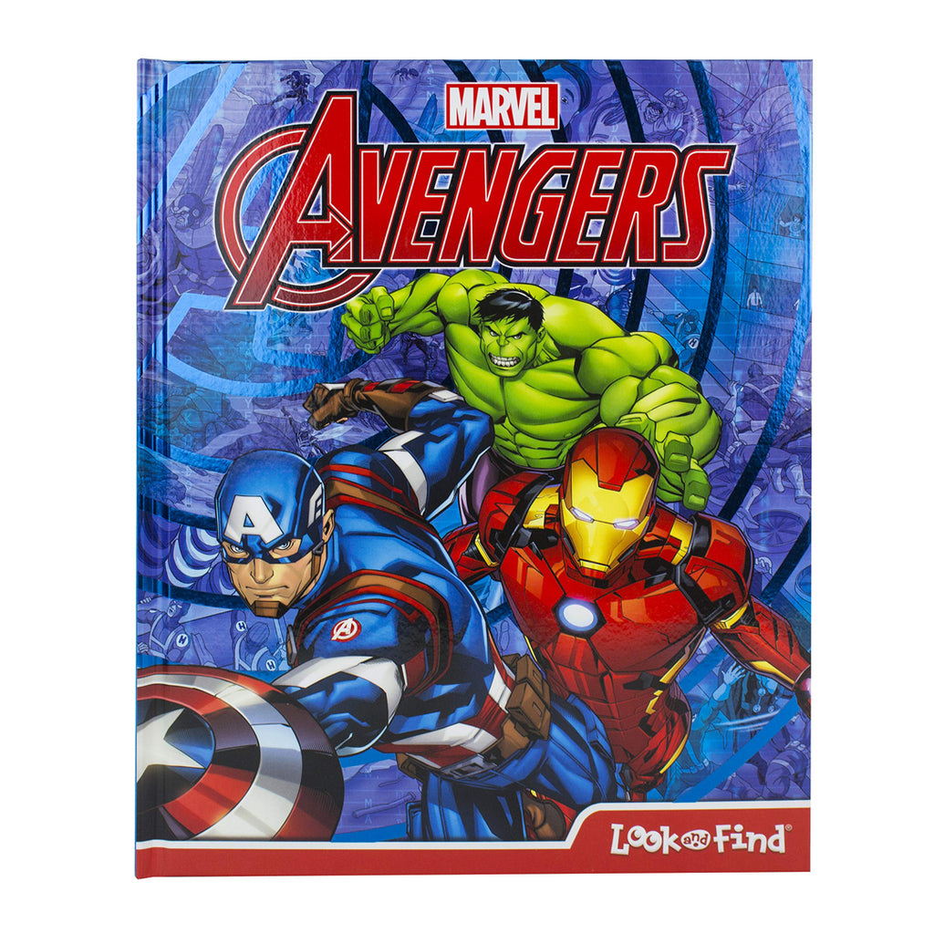 Marvel Avengers Look And Find Book