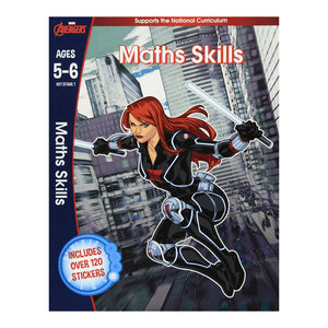 Avengers - Maths Skills - Learning Workbook (Ages 5-6)