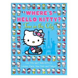 Where's Hello Kitty: Fun in the City Activity Book
