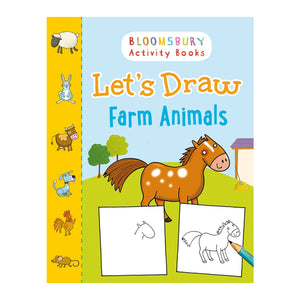 Let's Draw Farm Animals