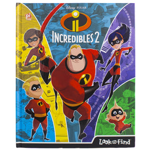 Incredibles 2 Look And Find Book